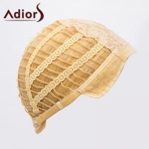 Fashion Blonde Brown Ombre Medium Capless Fluffy Curly Synthetic Adiors Wig For Women -