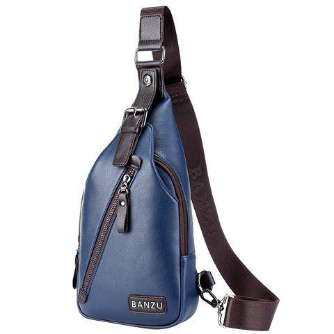 Outfits Casual Zip and Buckle Design Messenger Bag For Men