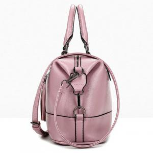 Stylish Tassels and Solid Color Design Tote Bag For Women - PINK