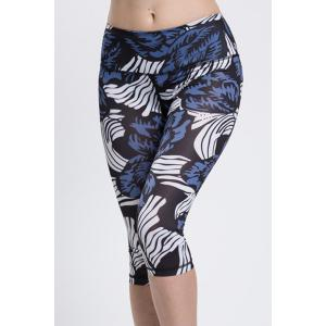 Fashionable High Waist Printed Sport Leggings For Women