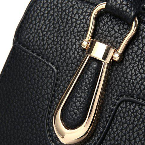 Latest Fashionable Solid Color and Metal Design Tote Bag For Women -   Mobile