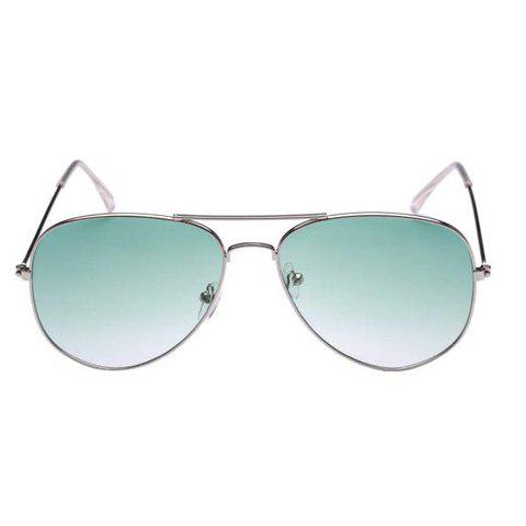 Shop Trendy Alloy Frame Candy Color Lenses Pilot Sunglasses