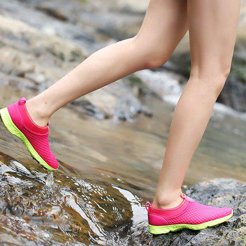 Chic Trendy Breathable and Solid Color Design Athletic Shoes For Women - 39 ROSE Mobile