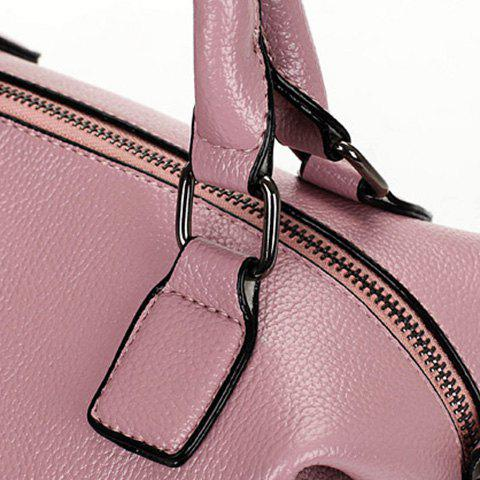 New Stylish Tassels and Solid Color Design Tote Bag For Women - PINK  Mobile