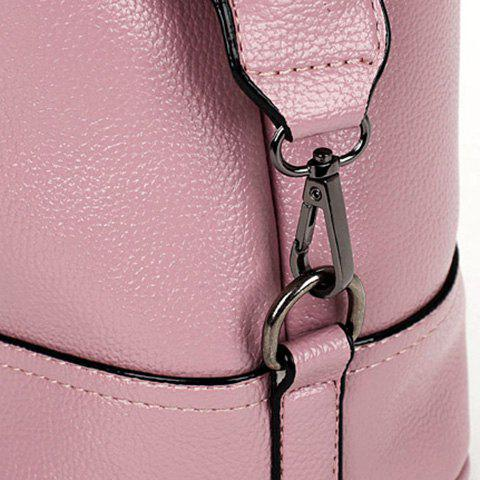 Store Stylish Tassels and Solid Color Design Tote Bag For Women - PINK  Mobile
