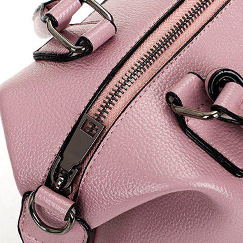 Unique Stylish Tassels and Solid Color Design Tote Bag For Women - PINK  Mobile