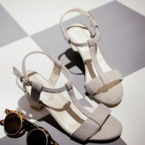 Sweet Slingback and T-Strap Design Sandals For Women -