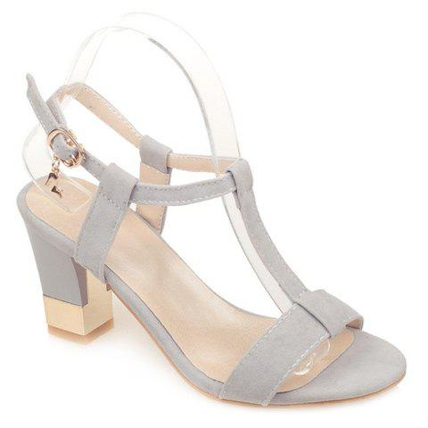 Fancy Sweet Slingback and T-Strap Design Sandals For Women