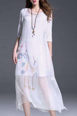 Discount Silk Tank Top Dress and T-Shirt Dress Twinset