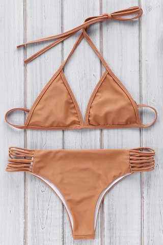 Cami Brown Bikini Set