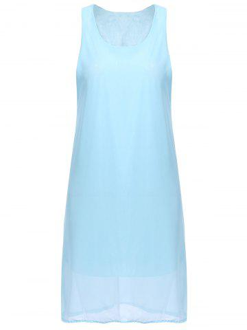 Outfit Bowknot Chiffon Shift Tank Dress