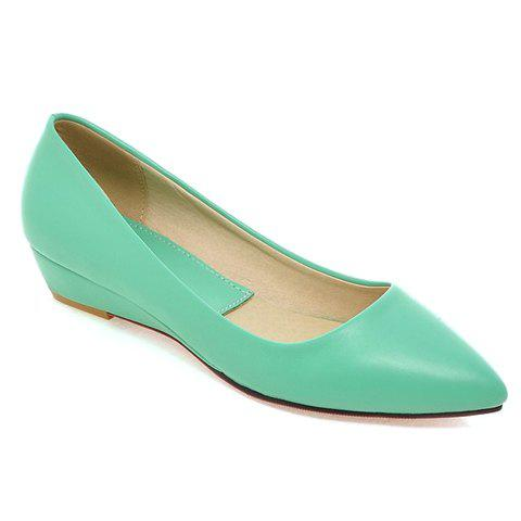 Fashion Point Toe Flat Slip On Shoes