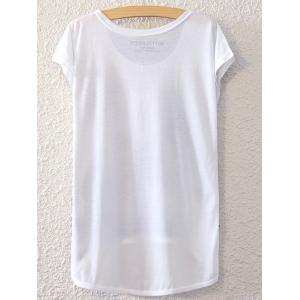 Simple Style Women's Bowknot Pattern Short Sleeve T-Shirt -