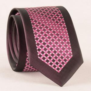 Stylish Plaid Mesh Jacquard Tie For Men -