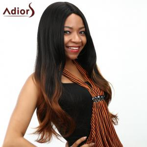 Curly Long Ombre Heat Resistant Synthetic Women's Wig -