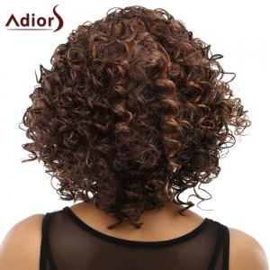 Women's Curly Long Heat Resistant Synthetic Wig -