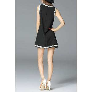 Daisy Applique A Line Dress -