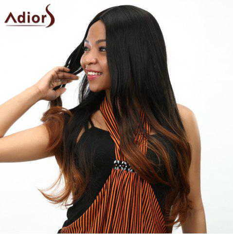 Discount Curly Long Ombre Heat Resistant Synthetic Women's Wig