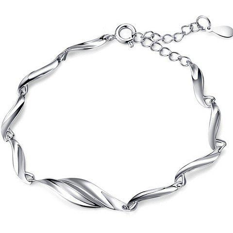 Outfits Adjustable Alloy Chain Bracelet