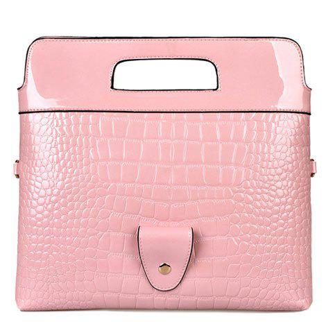 Sale Stylish Embossing and Magnetic Closure Design Clutch Bag For Women