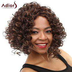 Women's Curly Long Heat Resistant Synthetic Wig