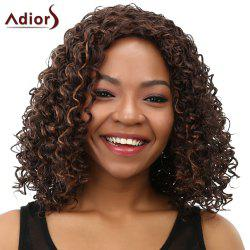 Curly Long Heat Resistant Synthetic Women's Wig