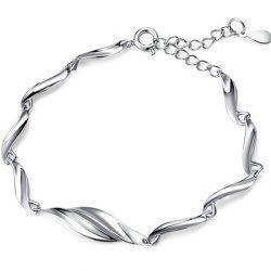 Adjustable Alloy Chain Bracelet -