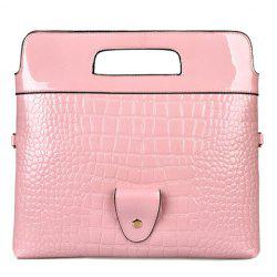 Stylish Embossing and Magnetic Closure Design Clutch Bag For Women -