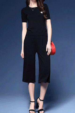 Store Simple Style Top and Pants Twinset