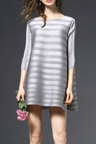 Buy Striped Flared Pregnant Dress