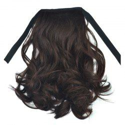 Fashion Short Capless Fluffy Curly Synthetic Ponytail For Women