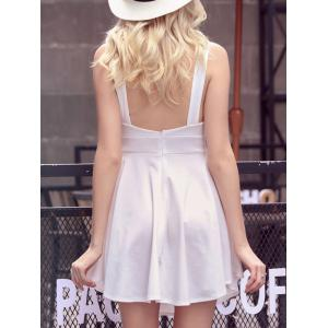 Short Backless A Line Summer Dress