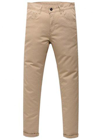 New Zip Fly Skinny Chino Pants