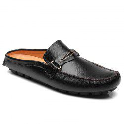 Leisure Stitching and Black Design Loafers For Men -