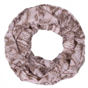 Chic Hazy Geometry Pattern Voile Bib Scarf For Women -
