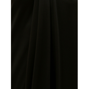 Chic Halter Asymmetrical Backless Solid Color Women's Dress -