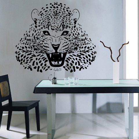 Best 3D Leopard Vinyl Wall Art Stickers For Bedrooms