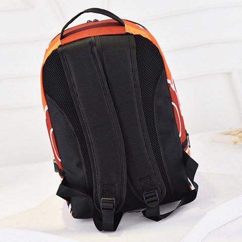 Chic Leisure Peking Mask and Multicolor Design Backpack For Men - COLORMIX  Mobile