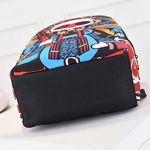 Discount Leisure Peking Mask and Multicolor Design Backpack For Men - COLORMIX  Mobile