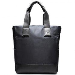 Casual Solid Color and Nylon Design Briefcase For Men -