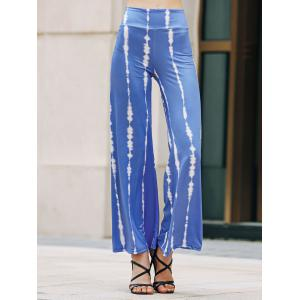 Casual Striped Wide Leg Women's Palazzo Pants