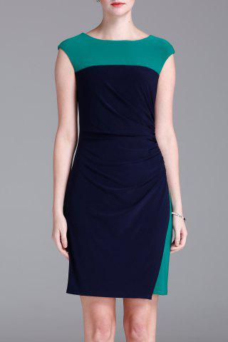 Outfit Bodycon Hit Color Dress