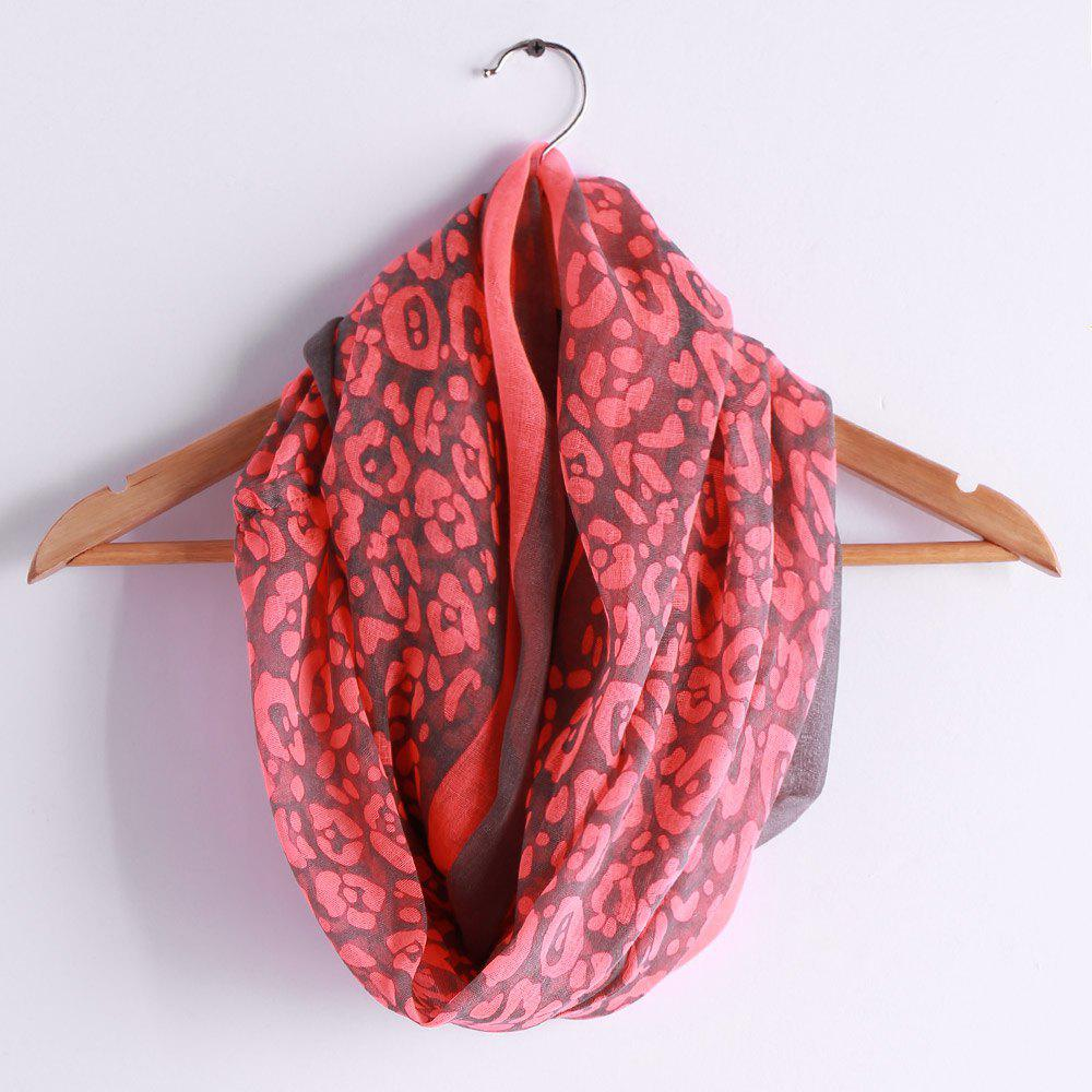 Discount Chic Leopard Pattern Multifunctional Voile Scarf For Women