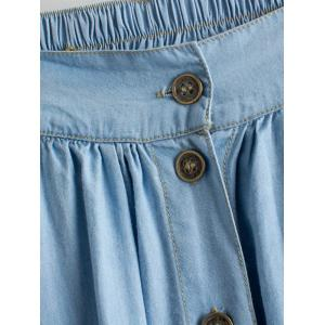 Chic Women's Denim Skirt -