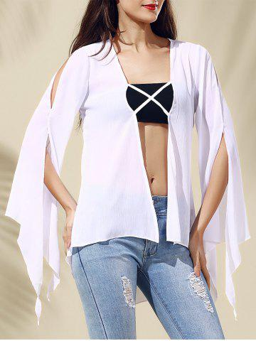 Affordable Chic Women's Hollow Out Long Sleeve Blouse