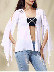 Chic Women's Hollow Out Long Sleeve Blouse -