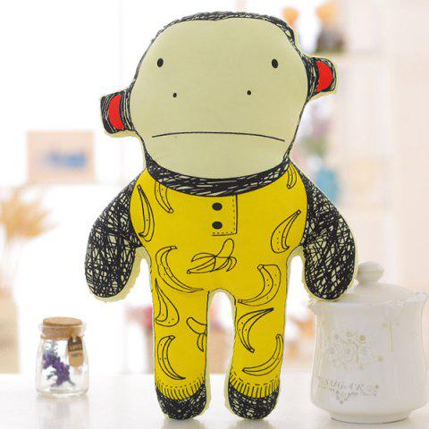 Affordable 40CM Super Soft Pillow Doll Cartoon Monkey Shape Children's Plush Toy -   Mobile
