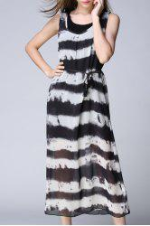 Cami Dress and Striped Outer Dress Twinset -
