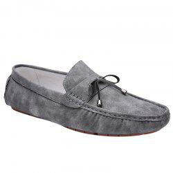 Concise Stitching and Solid Colour Design Casual Shoes For Men -