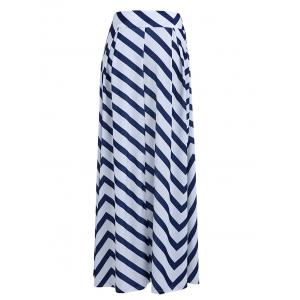 Fashionable High-Waisted Zig Zag Women's Skirt -